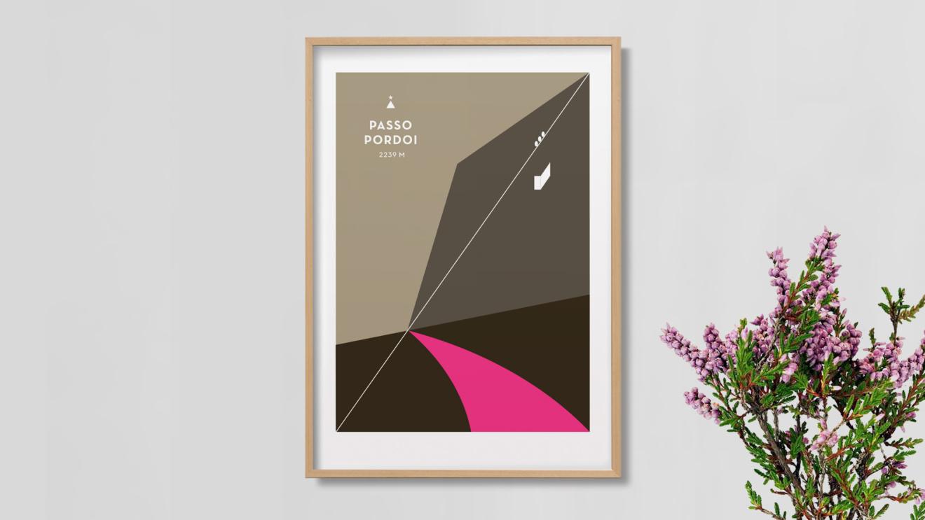 Pordoi_M Poster Mockup - Palm Tree Interior 9X16 2