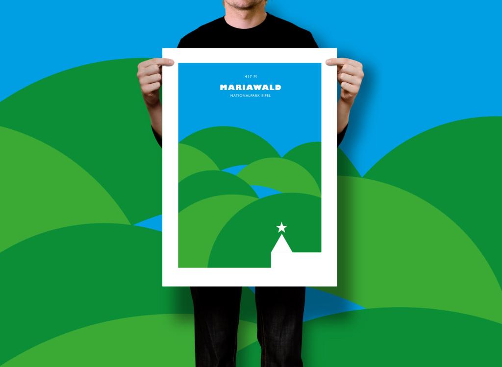 Mariawald Eifel poster