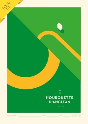 Poster Hourquette d'Ancizan