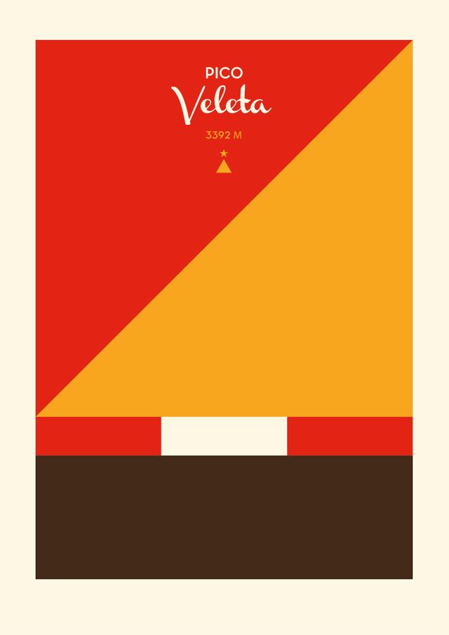 Poster Pico Veleta