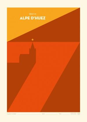 Poster Alpe d'Huez