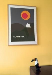 Paterberg poster in lijst