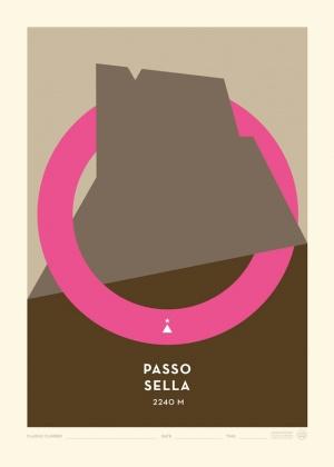 Poster Passo Sella