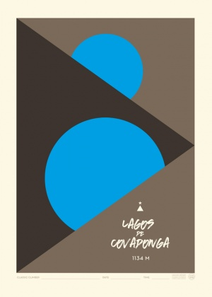 Poster Lagos de Covadonga