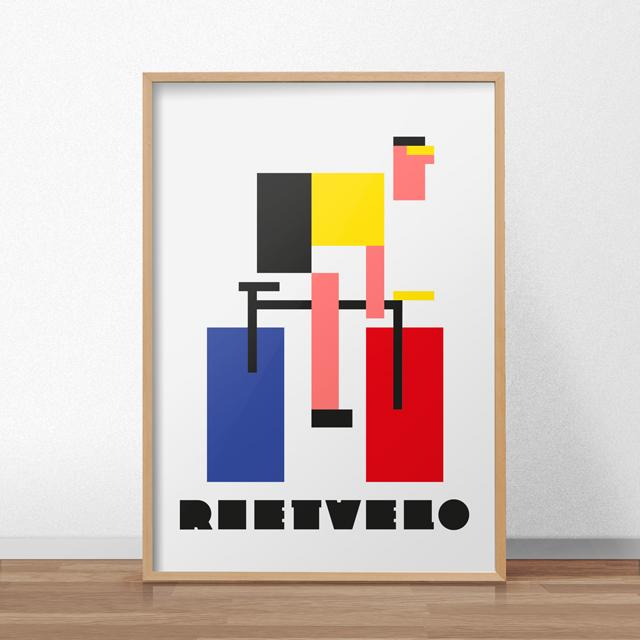 rietvelo_poster-mockup-houtenlijst_high_bruin