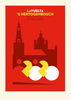 Poster Vuelta 's Hertogenbosch