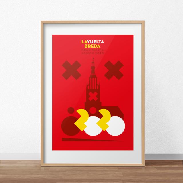 Poster Vuelta Breda
